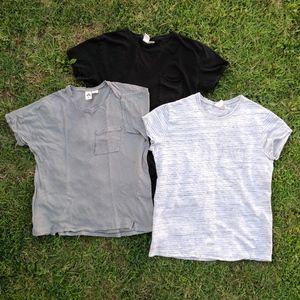 UO Feathers T-Shirt Lot of 3 Men's Size Medium